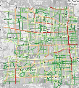 Traffic Patterns in Chicago