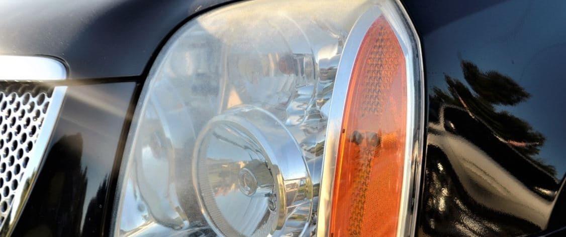 Normal car's headlight
